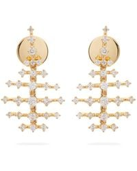 Fernando Jorge - Mini Disco 18kt Gold & Diamond Earrings - Lyst