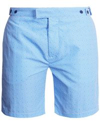Frescobol Carioca   Tailored Angra-print Swim Shorts   Lyst