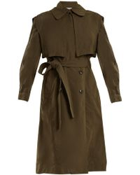 Vince - Oversized Tie-waist Trench Coat - Lyst