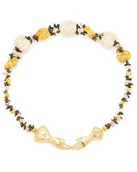 Heimat Atlantica - Eloise Shell-embellished Necklace - Lyst