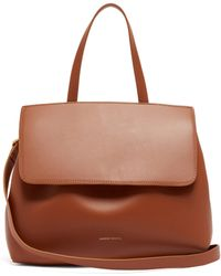 Mansur Gavriel - Mini Lady Drawstring Leather Bag - Lyst