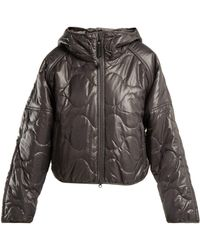 adidas By Stella McCartney - Run Hooded Padded Jacket - Lyst