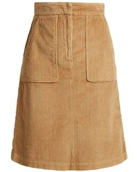 MASSCOB - Idris Corduroy Skirt - Lyst
