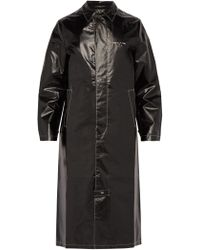 1017 ALYX 9SM - Williams Logo Embroidered Coat - Lyst