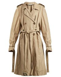 JW Anderson - Double-breasted Twill Trench Coat - Lyst