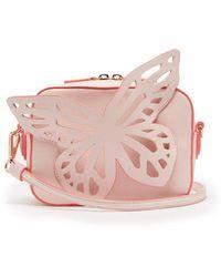 Sophia Webster - Brooke Butterfly-appliqued Leather Cross-body Bag - Lyst