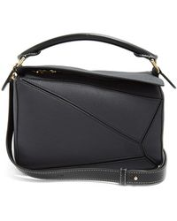 Loewe - Puzzle Small Leather Cross-body Bag - Lyst