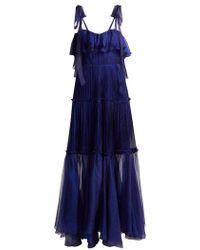 Maria Lucia Hohan - Norah Bustier Silk Gown - Lyst