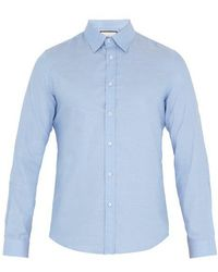 Gucci - Duke Point-collar Cotton Shirt - Lyst