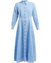 Mara Hoffman - Michelle Linen And Cotton Blend Dress - Lyst