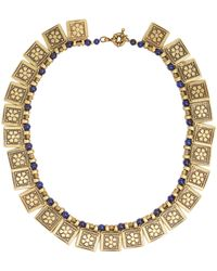 Etro - Floral-embossed Necklace - Lyst
