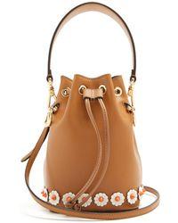 Fendi - My Treasure Leather Bucket Bag - Lyst
