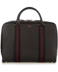 Paul Smith   City-webbing Leather Holdall   Lyst