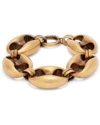 Balenciaga - Exaggerated Chain Bracelet - Lyst