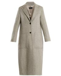 JOSEPH - Marvil Single-breasted Wool And Silk-blend Coat - Lyst