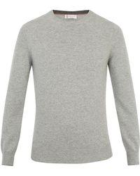 Brunello Cucinelli - Crew-neck Wool-blend Sweater - Lyst
