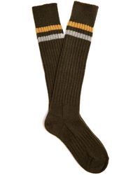 Acne | Ollie Ribbed-knit Wool-blend Socks | Lyst