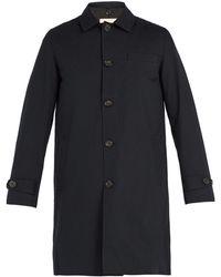 Oliver Spencer - Beaumont Gabardine Coat - Lyst