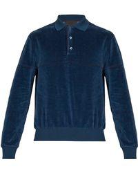 Prada - Sweat-shirt chenille - Lyst a6d71c5a2f9