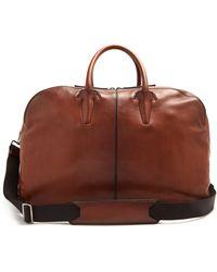 Berluti - Bowling Leather Travel Bag - Lyst