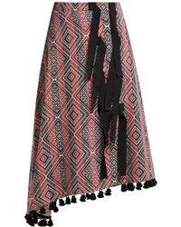 Altuzarra - Basilica Diamond-jacquard Midi Skirt - Lyst