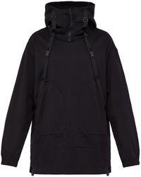 d04ed8cd7da7 Y-3 - Parachute Cotton Hooded Sweatshirt - Lyst