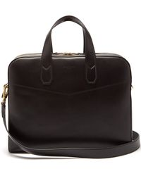 In Men Dunhill Lyst Black For Briefcase Hampstead Leather O0qwdqI