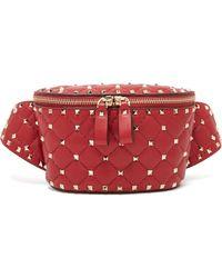 Valentino - Rockstud Spike Belt Bag - Lyst