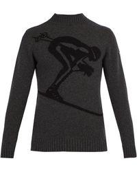Fusalp - Skieur Ski-jacquard Wool-blend Sweater - Lyst