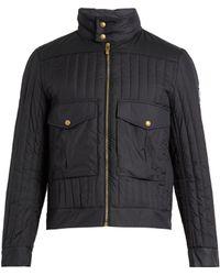 Moncler Gamme Bleu - Hooded Contrast-panel Down Coat - Lyst