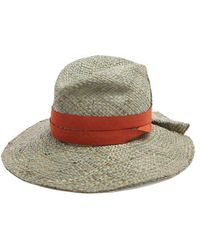 Lola Hats - Snap First Straw Hat - Lyst