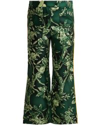 F.R.S For Restless Sleepers - Limos Ramage Silk-twill Trousers - Lyst