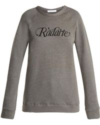 Rodarte - Radarte Cotton Sweatshirt - Lyst