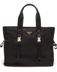 Prada - Nylon Weekend Bag - Lyst