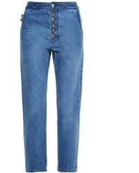 Ellery | Monroe High-rise Slim-leg Jeans | Lyst