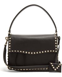 Valentino - Rockstud Leather Bag - Lyst