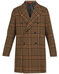 Barena - Patrone Checked Wool Blend Overcoat - Lyst