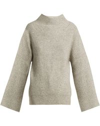 Nili Lotan - Ronnie Bell Sleeved Knit Sweater - Lyst