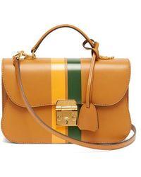 Mark Cross - Dorothy Smooth-leather Shoulder Bag - Lyst