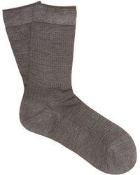 Falke - No.2 Silk Blend Socks - Lyst