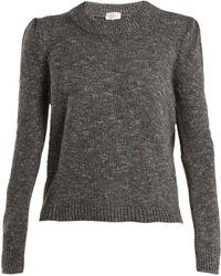 Isa Arfen - Speckled Wool Blend Jumper - Lyst