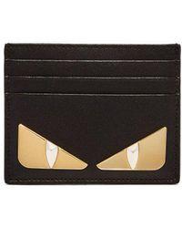 Fendi - Bag Bugs Leather Cardholder - Lyst