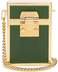 Mark Cross - Nicole Leather And Gold-plated Bag - Lyst