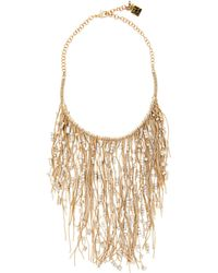 Rosantica By Michela Panero - Insanity Chain And Crystal Necklace - Lyst