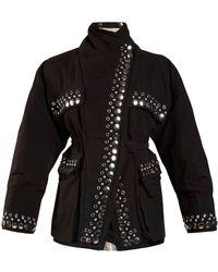 Isabel Marant | Emmy Stud-embellished Jacket | Lyst