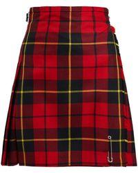 Le Kilt - Wallace 48cm Tartan Wool Kilt - Lyst