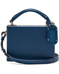 Sophie Hulme - Albany Leather Cross-body Bag - Lyst