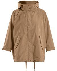 Woolrich - Batwing-sleeved Hooded Jacket - Lyst