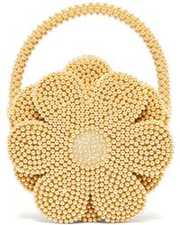 34366164e2 Shrimps - Buttercup Faux Pearl Embellished Bag - Lyst