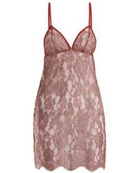 Coco De Mer - Fever Slip Dress - Lyst